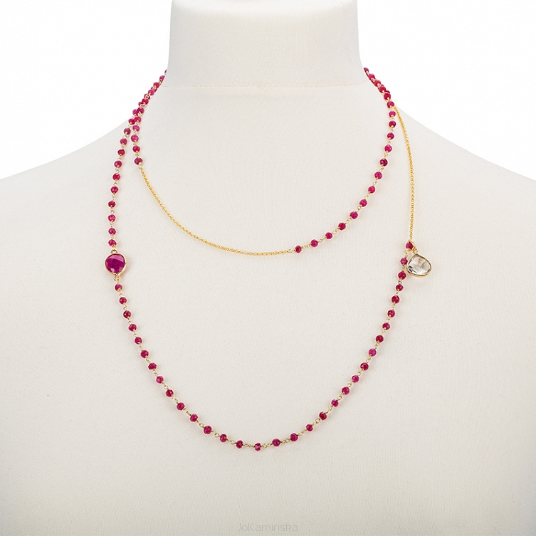 BB Necklace Ruby