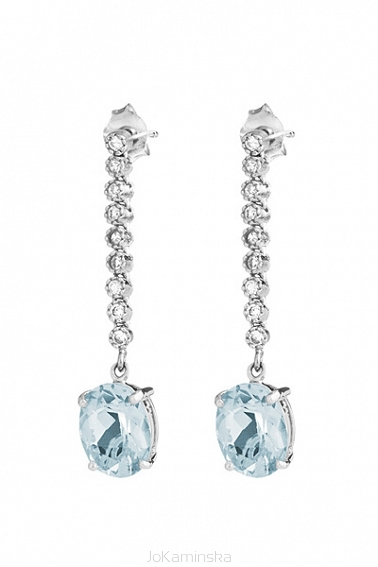 Tutti Frutti Topaz Earrings