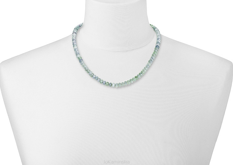 Simplicity Aquamarine Necklace