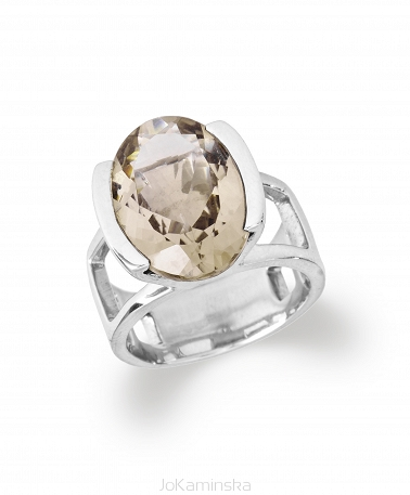 Tutti Frutti Smoky Quartz Ring