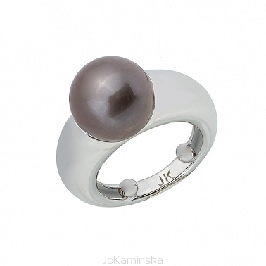 Fancy Tahitian Pearl Ring